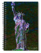 Lady Liberty 20130115 Spiral Notebook