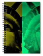 Lady Liberty For All Spiral Notebook