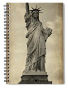 Lady Liberty No 11 Spiral Notebook