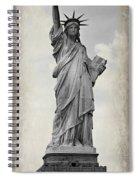 Lady Liberty No 6 Spiral Notebook