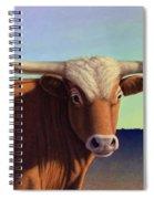 Lady Longhorn Spiral Notebook