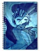 Lady Madonna  Spiral Notebook