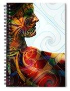 Lady Masquerade Spiral Notebook