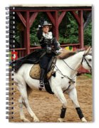 Lady Of Arms Spiral Notebook