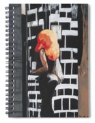 Lady Of The Night Spiral Notebook