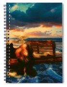 Lady Of The Ocean Spiral Notebook