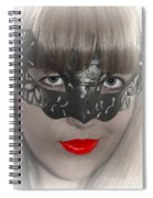 Lady Of The Opera Spiral Notebook