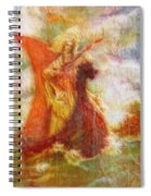 Lady On A Boat Spiral Notebook