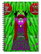 Lady Panda Have Arrived Spiral Notebook