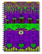 Lady Pandas Friends With Hat On Spiral Notebook