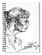 Lady Profile Spiral Notebook