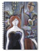 Lady Sings The Blues Spiral Notebook