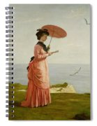 Lady Tennyson On Afton Downs Spiral Notebook