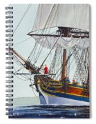 Lady Washington And Captain Gray Spiral Notebook