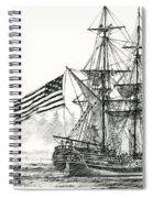 Lady Washington At Friendly Cove Spiral Notebook