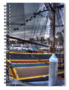 Lady Washington Spiral Notebook