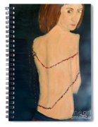 Lady With Beads From Shan Pecks Photograthy  Spiral Notebook