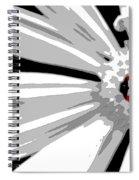 Ladybug On Daisy Spiral Notebook