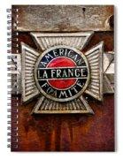 Lafrance Badge Spiral Notebook