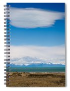 Lago Argentino In Patagonia  Spiral Notebook