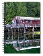 Lagoon Cove Spiral Notebook