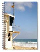 Laguna Beach Lifeguard Tower Spiral Notebook
