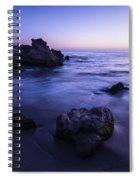 Laguna Beach Sunset In Ca Spiral Notebook