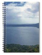 Laguna De Apoyo Nicaragua 2 Spiral Notebook