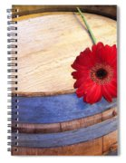 Laid Aside Spiral Notebook