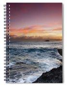 Laie Point Sunrise Spiral Notebook