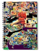 Lail Haseder 4 Spiral Notebook