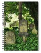 Lain Under An Ivy Blanket Spiral Notebook