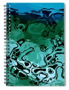 Abiquiu Reservoir Lakebed Spiral Notebook