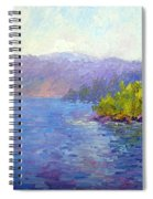 Lake Arrowhead Spiral Notebook