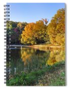 Lake At Chilhowee Spiral Notebook