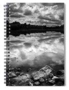 Lake Auburn Twilight Spiral Notebook