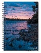 Lake Bailey Sunset Spiral Notebook