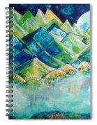 Lake By The Moon Light Spiral Notebook