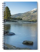 Lake Cascade Spiral Notebook