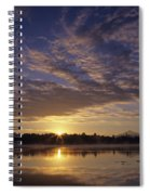 Lake Cassidy With Mount Pilchuck Spiral Notebook