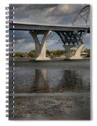 Lake Champlain Bridge Spiral Notebook
