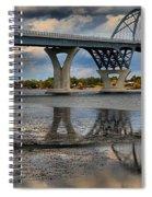Lake Champlain New Bridge Spiral Notebook