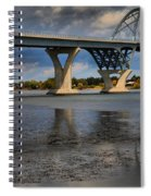 Lake Champlain Tied Arch Bridge Spiral Notebook