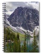 Lake Colchuck Gateway To The Enchantments Spiral Notebook