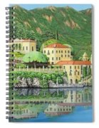 Lake Como Morning Spiral Notebook