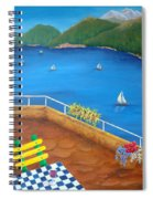 Lake Como Spiral Notebook