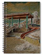 Lake Delores Water Park Spiral Notebook