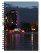 Lake Eola Spiral Notebook