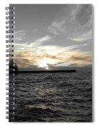Lake Erie Lights Spiral Notebook