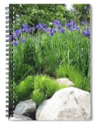 Lake George Irises Spiral Notebook